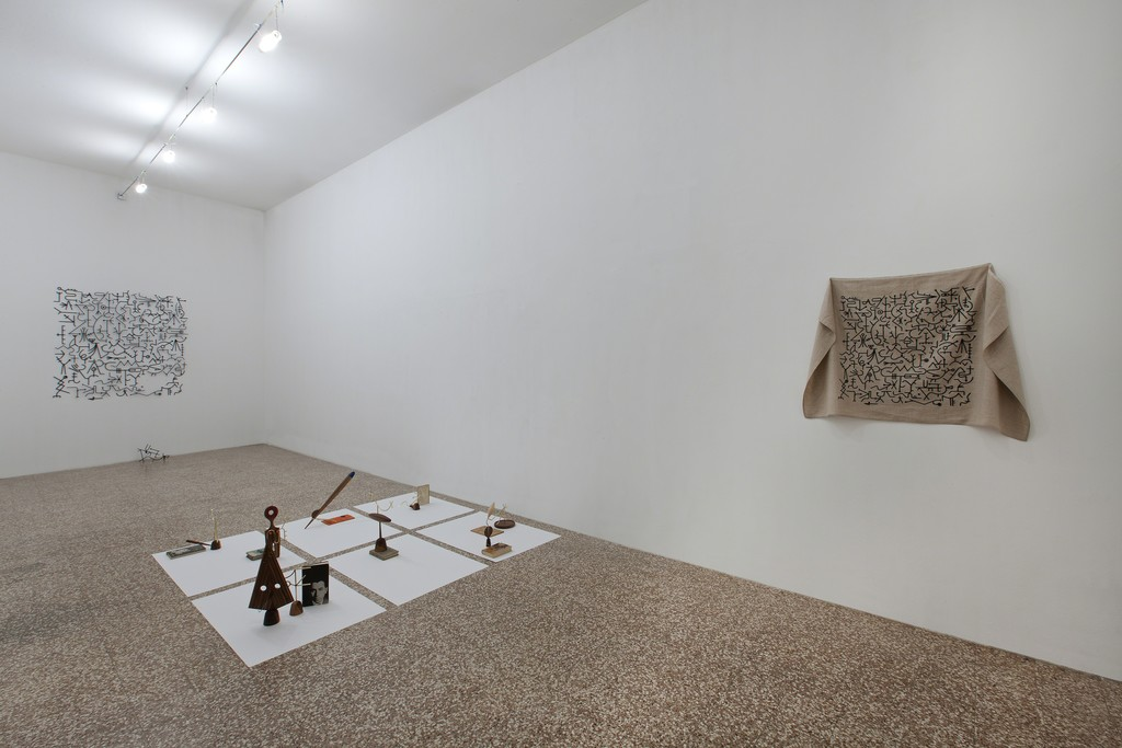 Edgar Orlaineta, Installation view at FL GALLERY, Photo: Antonio Maniscalco.