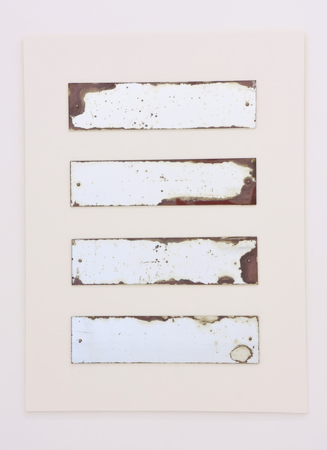 , 'Incomplete Mirror #2,' 1991-1996, Yavuz Gallery