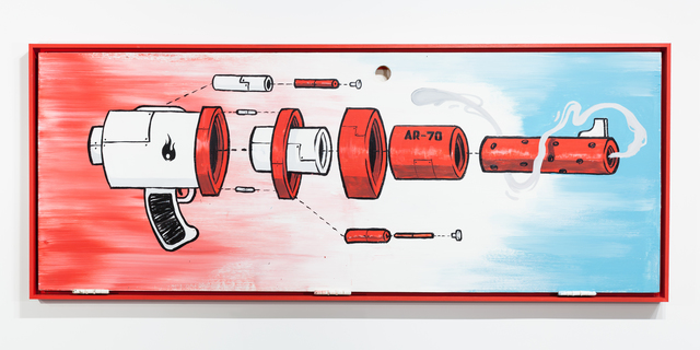 , 'Deconstructed AR-70 Torch Rifle,' 2017, Ki Smith Gallery