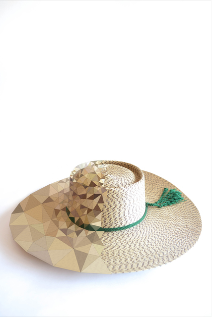 """gt2P, 'Huaso Hat from the series """"Losing my America""""', 2014, Museum of Arts and Design"""