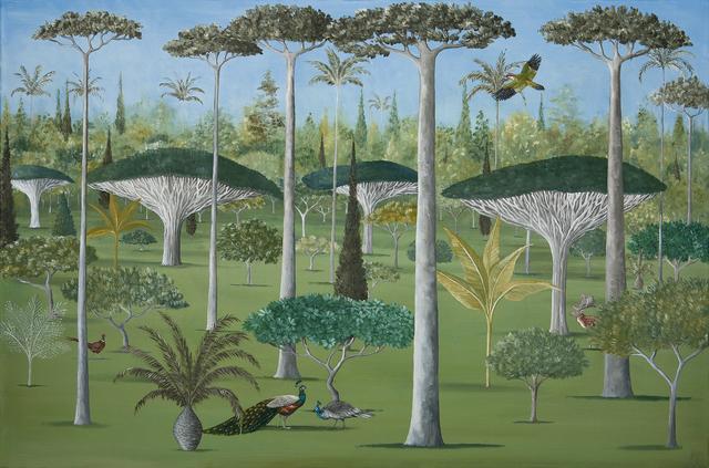 , 'A Plantation of Trees,' 2018, Jonathan Cooper