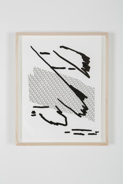 , 'Untitled (5),' 2015, Shulamit Nazarian