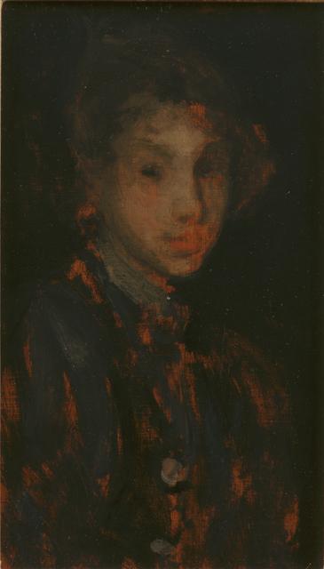 , 'Study of a Girl's Head,' ca. 1882, Newark Museum