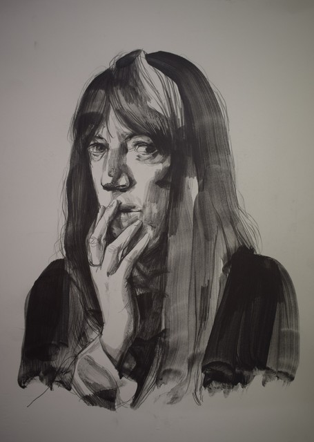 , 'Untitled (Patti Smith),' 2017, Pepita Lumier