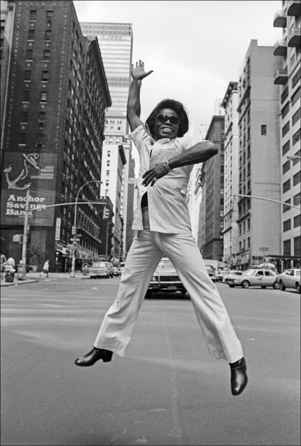 , 'James Brown Jumps on Broadway, New York City,' 1979, Madelyn Jordon Fine Art