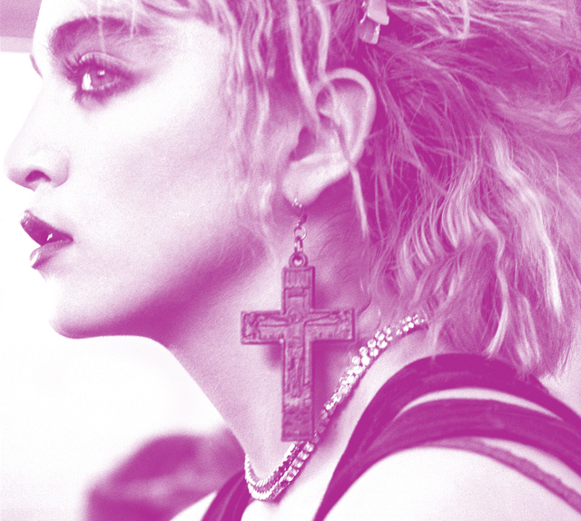 , 'Madonna Profile,' , Milk Gallery