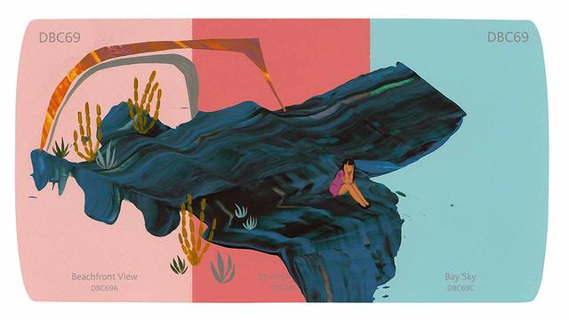 , 'Bay Sky,' 2016, Hashimoto Contemporary