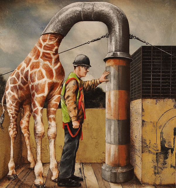 , 'Giraffescope,' 2014, Sue Greenwood Fine Art