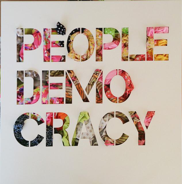 , 'People Democracy,' , Eden Fine Art