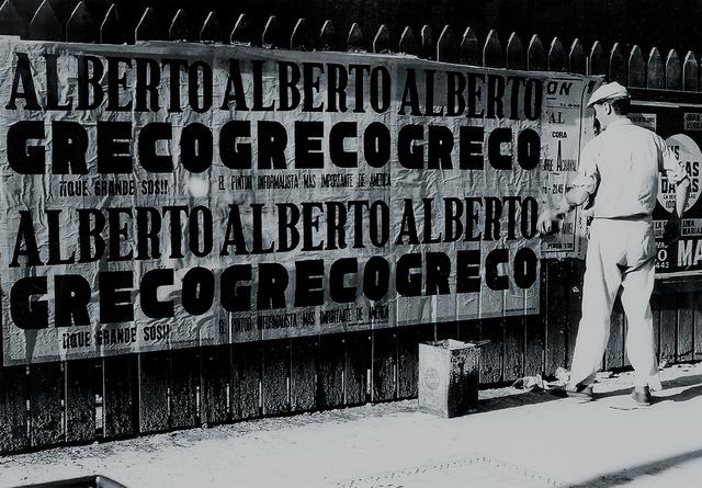 , 'Alberto Greco: ¡Qué grande sos!,' 1691, MAMAN Fine Art Gallery