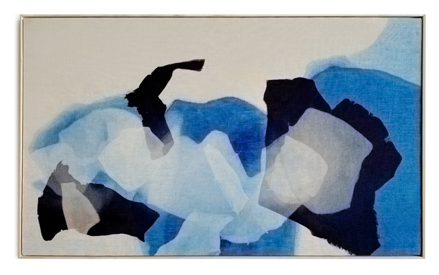 Carrie Crawford, 'Return to Rhythm', 2020, Painting, Indigo, logwood, oak gall, acorn, iron, and black walnut dye on linen, Uprise Art