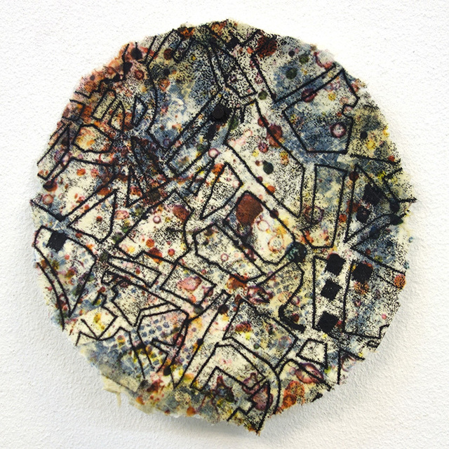 Yvette Drury Dubinsky, ' Tracing My Steps in Aleppo', 2015, Bruno David Gallery & Bruno David Projects