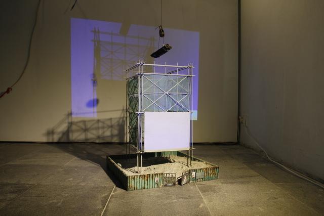 Wen-Hao ZHENG, '作為一種 理想居住 狀態的 迴圈 A circuit of ideal constructing process', 2018, Der-Horng Art Gallery