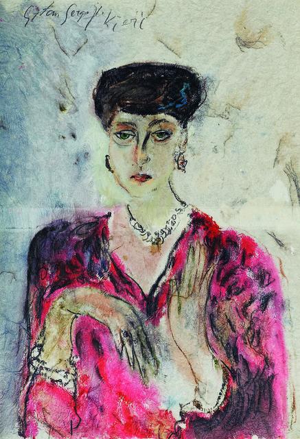 , 'Portrait with Hands,' 1995, Museum of Modern Art Dubrovnik