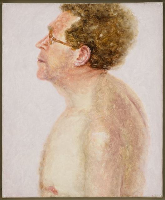 , 'Self-portrait, Nude Bust in Profile, on Pink Background,' 1975, Blain | Southern