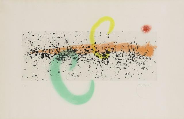 Joan Miró, 'Lune Et Vent (D. 346)', 1963, Doyle