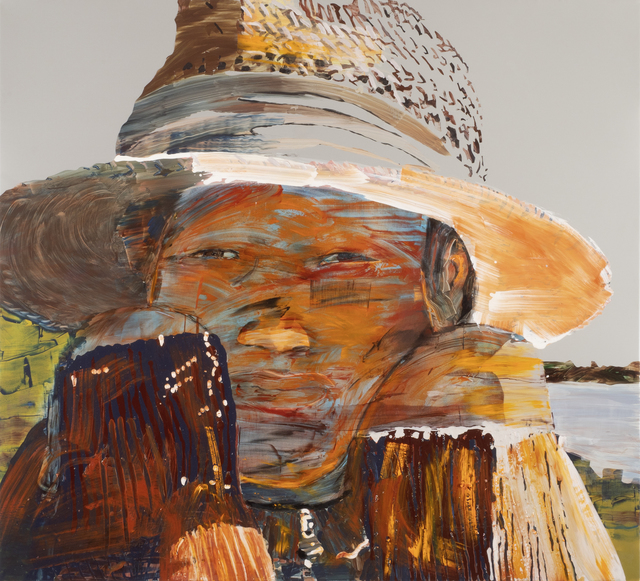 , 'In Shadow of Straw Hat,' 2018, MAKASIINI CONTEMPORARY
