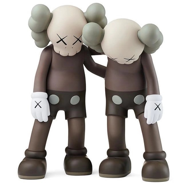 KAWS, 'ALONG THE WAY BROWN', 2019, Dope! Gallery
