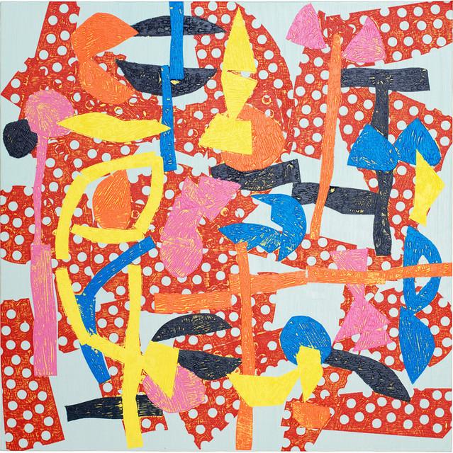 , 'Solo una vez 17 03 27,' 2017, La Patinoire Royale / Galerie Valerie Bach