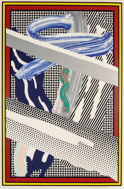 Roy Lichtenstein, 'Reflections on Expressionist Paintings, from The Carnegie Hall 100th Anniversary Portfolio', 1991, Heritage Auctions