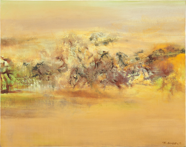 Zao Wou-Ki 趙無極, '22.05.2002', 2002, Painting, Oil on canvas, Phillips