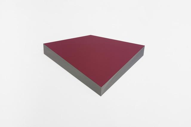 , 'O.T. carmin,' 2012, Galeria Raquel Arnaud