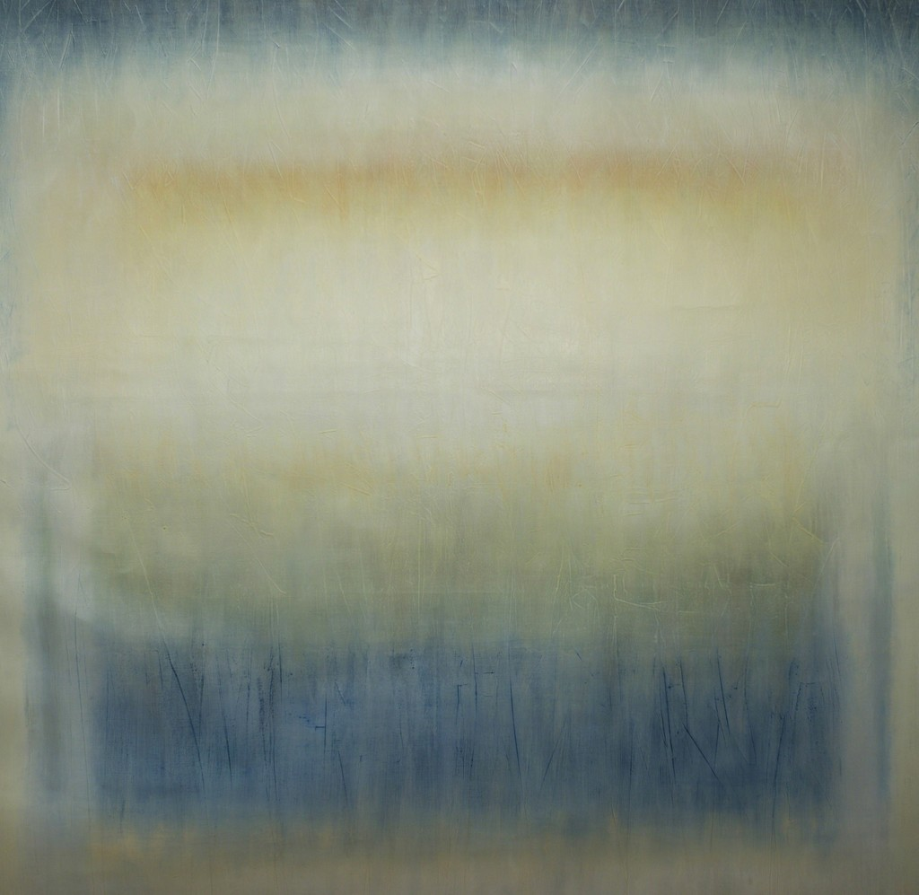 Katarina Monier - Light Sky, oil on canvas, 95 x 90 cm