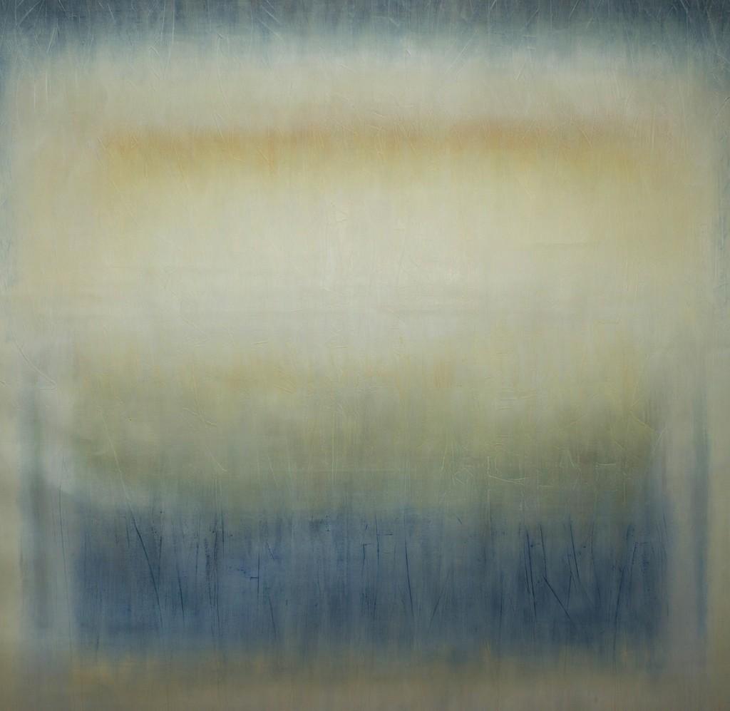 Katarina Monier - Light Sky, oil on canvas, 95 x 90 cm