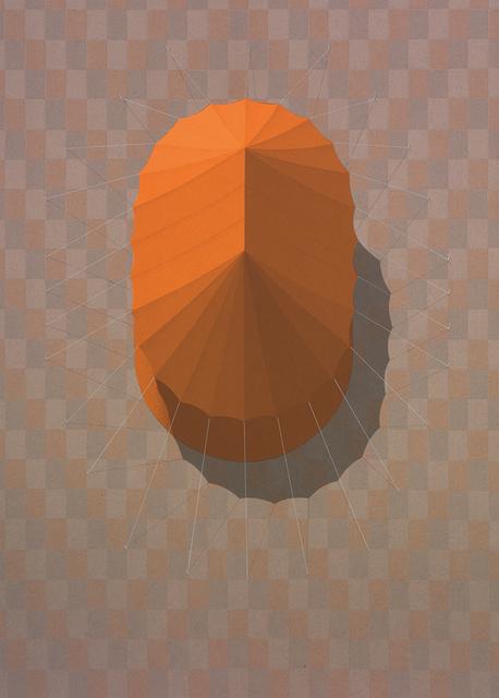 , 'Urban Tent 4 (Orange),' 2014, Pratt Contemporary