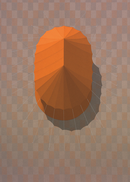 , 'Urban Tent 4 (Orange),' 2014, PRATT CONTEMPORARY / PRATT EDITIONS