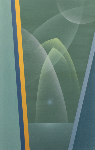 Raymond Jonson, 'Watercolor No.9, 1948 - Sequence-A Trilogy, Second Vista ', 1948, Painting, Watercolor on paper, Addison Rowe Gallery