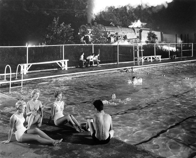 , 'Swimming Pool, Welch, West Virginia,' 1958, Danziger Gallery