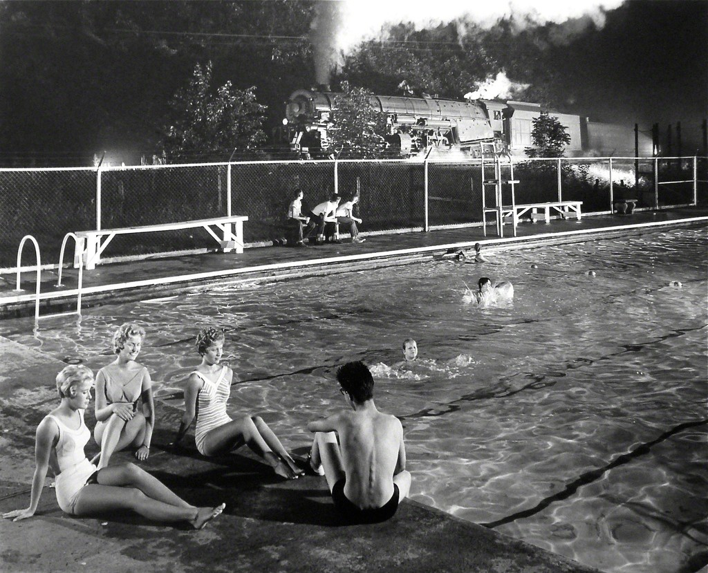 O Winston Link Swimming Pool Welch West Virginia