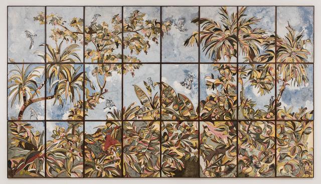 , 'The Lost Birds,' 2018, Galerie Dumonteil