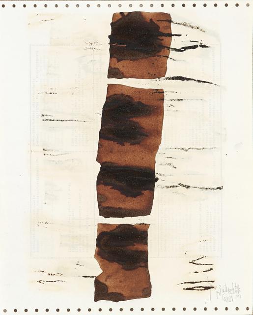 , 'Soy Sauce Drawings 11 酱油画 11,' 1988, Ink Studio