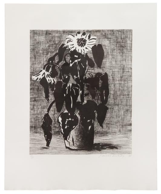 David Hockney, 'Sunflowers I', 1995, Hindman