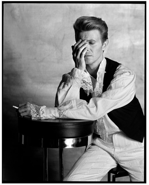 , 'David Bowie Considers The Question,' 1990, Imitate Modern