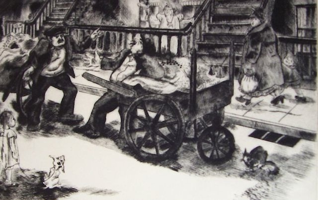 , 'Rival Ragmen,' 1936, Susan Teller Gallery