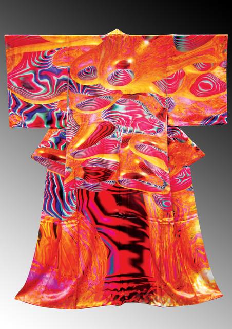 , '電腦和服誌CG Kimono_數位印刷、布料_Digital-print, Fabric_190 x 170 x 10 cm_,' 2007, MOCA Taipei