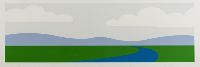 Julian Opie, 'Landscape (Cristea 2)', 1995, Forum Auctions