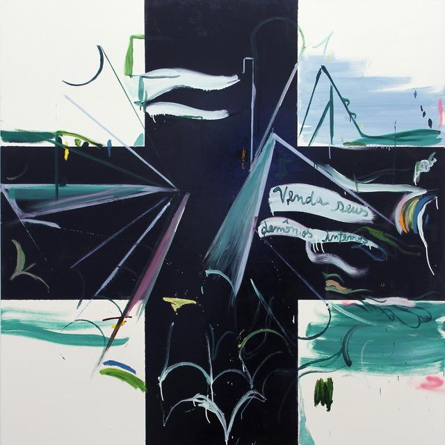 , 'Pintura Sem Título (Venda Seus Demônios Internos),' 2016, Cavalo