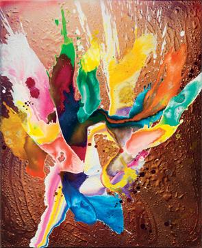 , 'danse des couleurs II,' 2017, Galerie Ostendorff