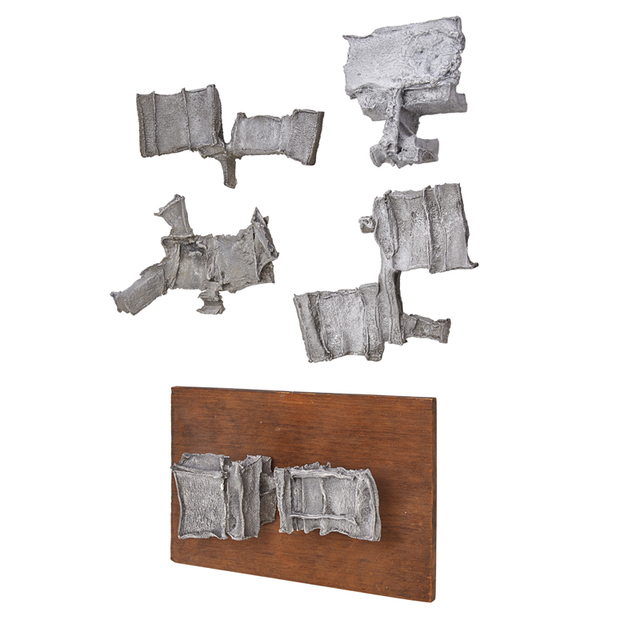 Denis Wagner, 'Group Of Five Door Pulls, USA', 1970s, Rago/Wright