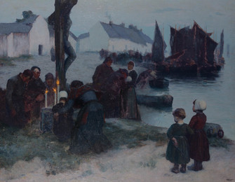The Departure of the Fishermen