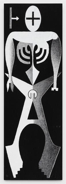Anton van Dalen, 'Human Logo #6', 1992, P.P.O.W