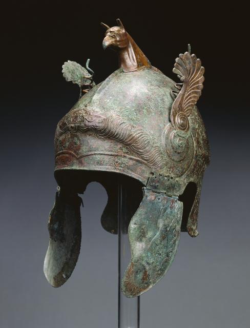 'Helmet of Chalcidian Type', 350 -300 BCE, J. Paul Getty Museum