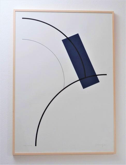 Gottfried Honegger, 'Etude Bleu', 2009, Galerie La Ligne