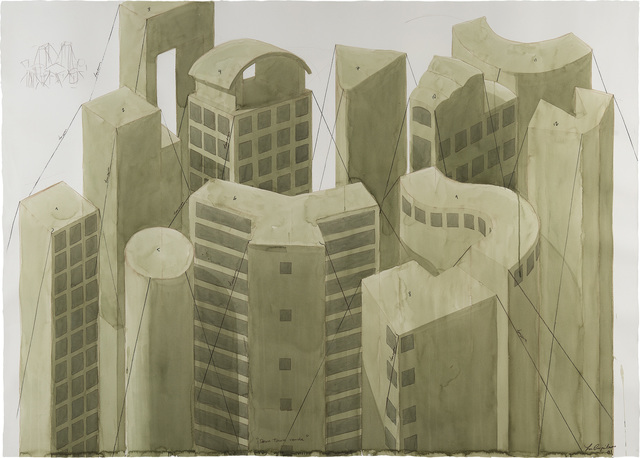 Los Carpinteros, 'Downtown Verde', 2001, Phillips