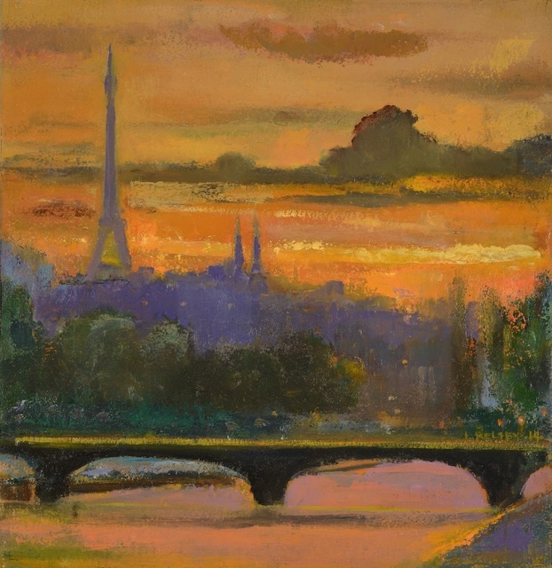 , 'Paris Sunset,' 2014, Madelyn Jordon Fine Art