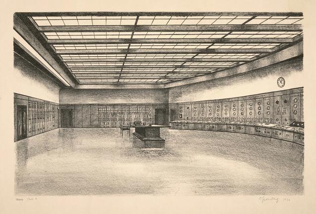 Carl Grossberg, 'Warte (BEWAG, Berlin)', 1930, Galerie Michael Hasenclever